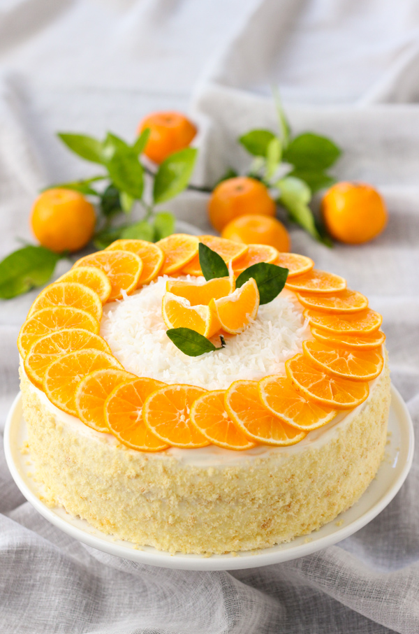 How To Decorate A Cake With Orange Peel